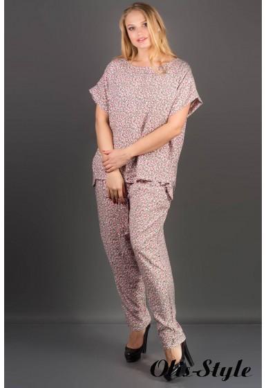 Костюм Блейзи (розовые цветы)     оптовая цена
