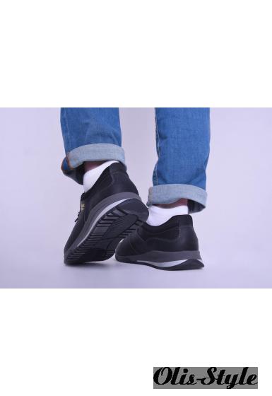 Мужские кроссовки 1855 (черный)