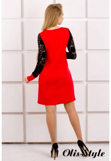 Платье Кэнди (красный) Оптовая цена