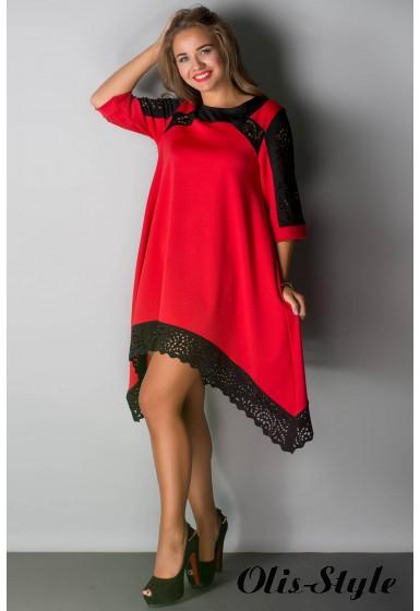Платье Вайти (красный) Оптовая цена