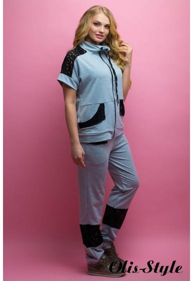 Спортивный костюм Калипса (серый)   оптовая цена