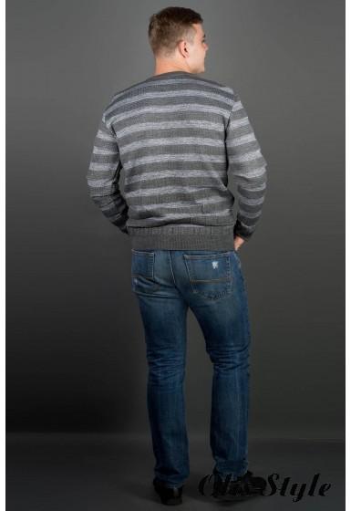 Мужской свитер Паук (серый) оптовая цена