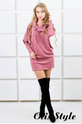 Платье-туника Шерли (розовый) оптовая цена