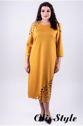Платье Дорис (горчичный)