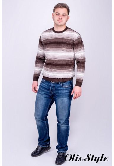 Мужской свитер Ашим (коричневый) оптовая цена