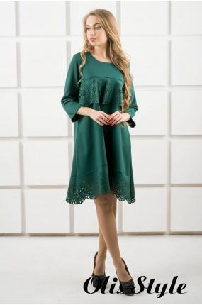 Платье Наир (зеленый) Оптовая цена