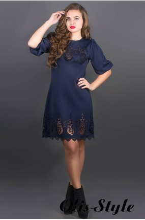 Платье Айсель (синий) Оптовая цена