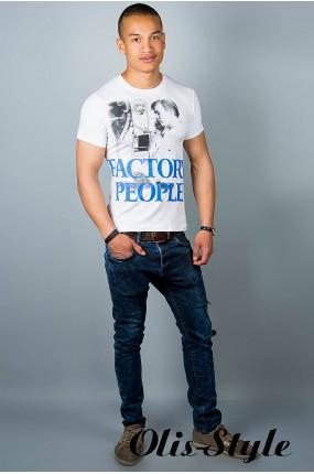Мужская футболка (белая №20) оптовая цена