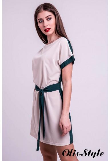 Платье Милинда (зеленый) Оптовая цена