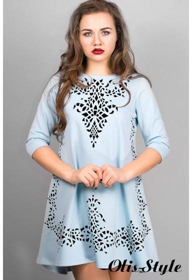 Платье Джейн (голубой) Оптовая Цена