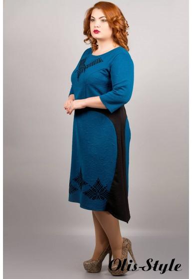 Платье Марта (морская волна) оптовая цена