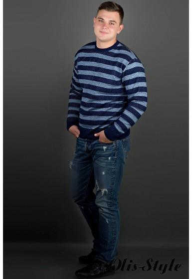 Мужской свитер Паук (синий) оптовая цена