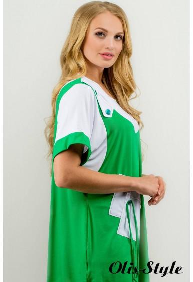 Туника Лэтти (зеленый) оптовая цена