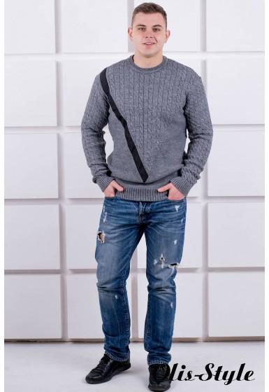 Мужской свитер Андрей (черный) оптовая цена