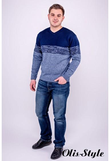 Мужской свитер Гена (бирюза) оптовая цена