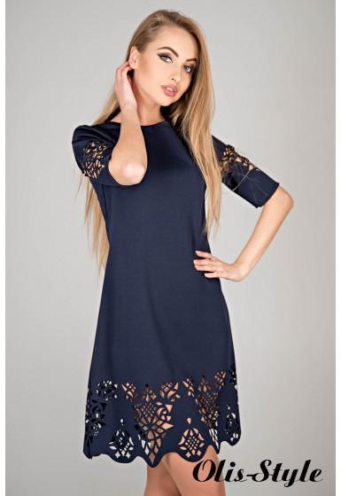 Платье Фисента (синий) Оптовая цена