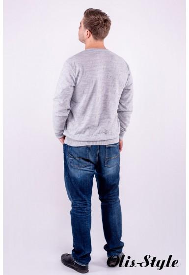 Мужской свитер Гриша (серый) оптовая цена