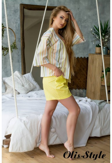 Пижама Хейли (желтый) оптовая цена