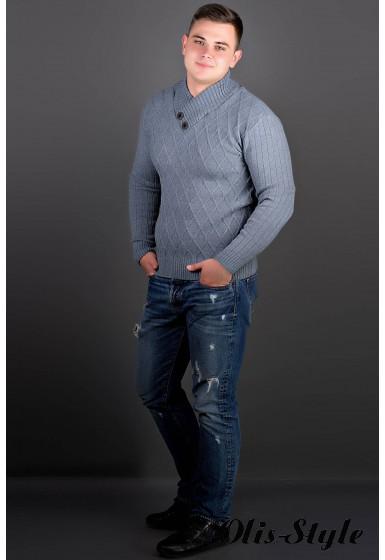 Мужской свитер Рубин (серый) оптовая цена