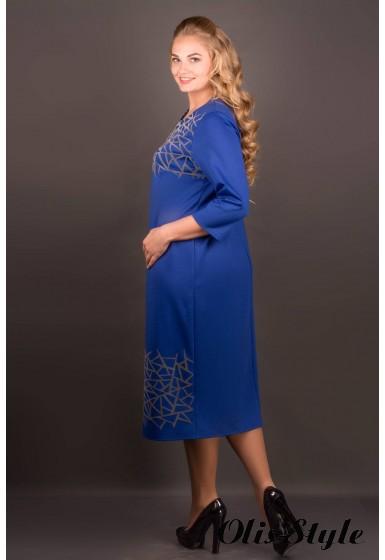 Платье Пиастра (электрик) Оптовая цена