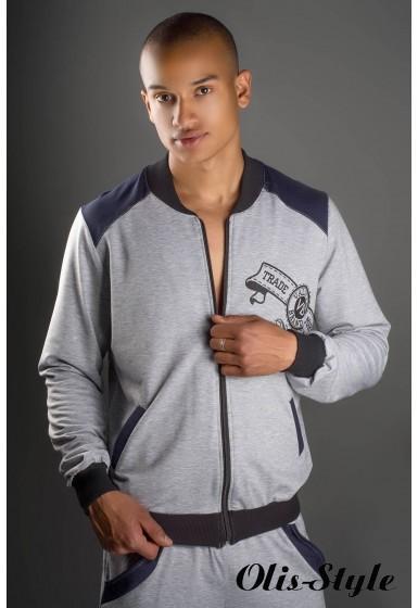 Мужской спортивный костюм Митчел (серый) Оптовая Цена