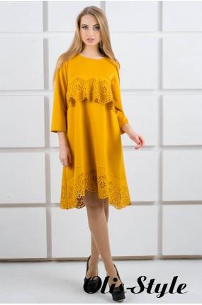 Платье Наир (горчичный) Оптовая цена
