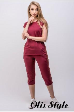 Спортивный костюм Лайза (бордовый) Оптовая цена