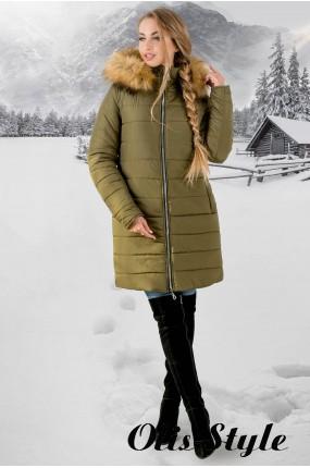 Зимняя куртка Флорида (хаки бежевый мех) Оптовая цена