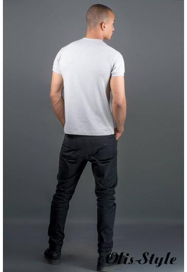 Мужская футболка Систем (серый) оптовая цена