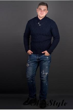 Мужской свитер Рубин (синий) оптовая цена