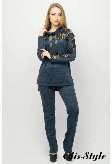 Спортивный костюм Надин (синий) Оптовая цена