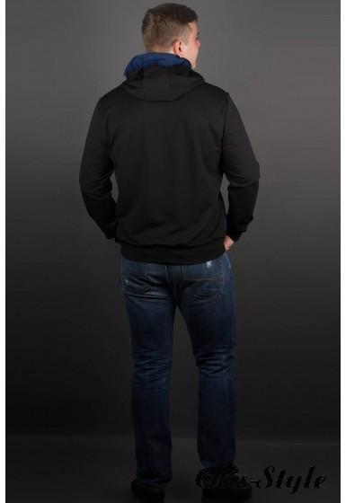 Мужская толстовка Эдмон (черный) оптовая цена