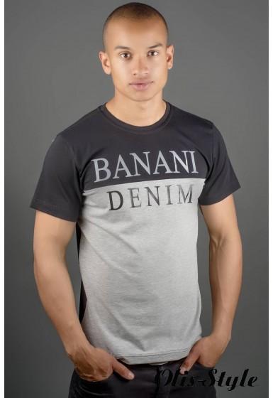 Мужская футболка Бани (черный) оптовая цена