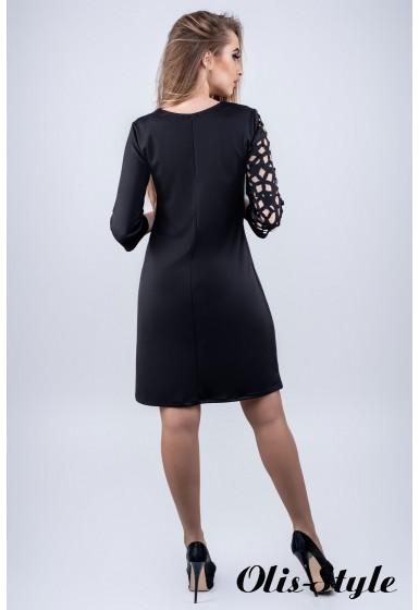 Платье Луиза (черный) Оптовая цена