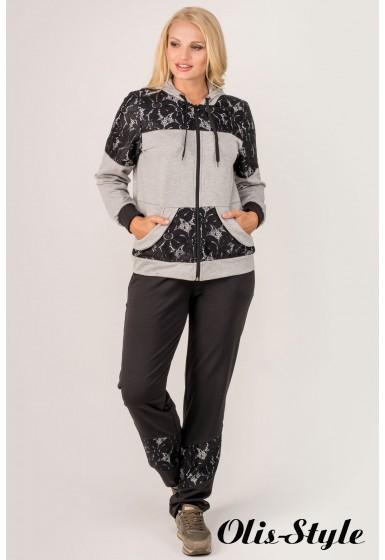 Спортивный костюм Сайла (серый)   оптовая цена