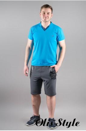 Мужская футболка Томи (бирюза) оптовая цена