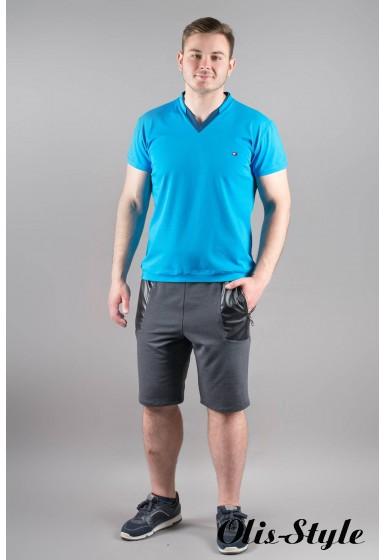 Мужская футболка Томи (бирюза)