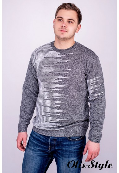 Мужской свитер Виктор (серый) оптовая цена