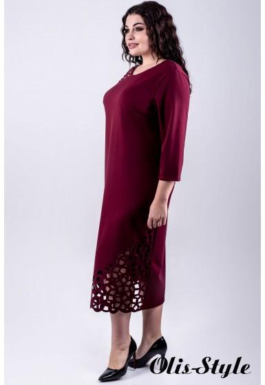 Платье Дорис (бордовый)