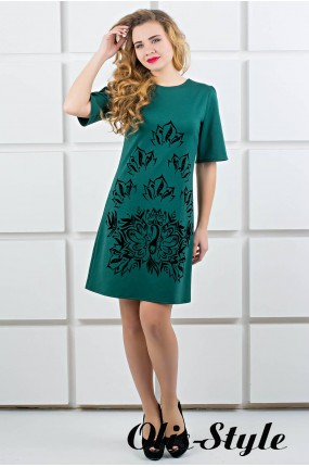 Платье Ариэль (зеленый) Оптовая цена