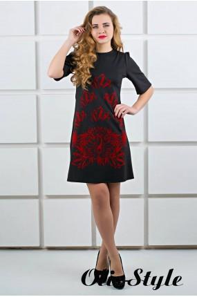 Платье Ариэль (черный) Оптовая цена