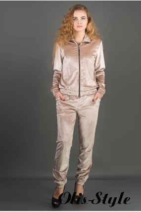 Спортивный костюм Ленди (бежевый) Оптовая цена