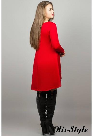 Платье Лучия (Красный) Оптовая Цена