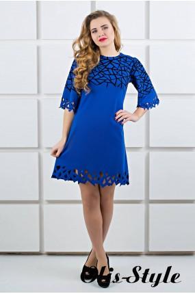 Платье Мэйби (электрик) Оптовая цена