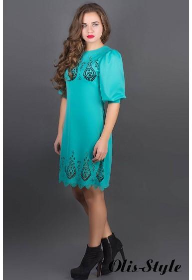 Платье Айсель (бирюза) Оптовая цена