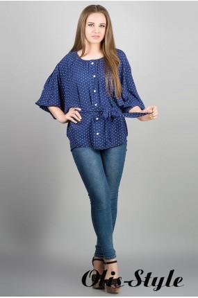 Рубашка Лолита (синий) Оптовая Цена