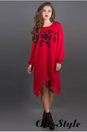Платье Бланк (красный) Оптовая цена