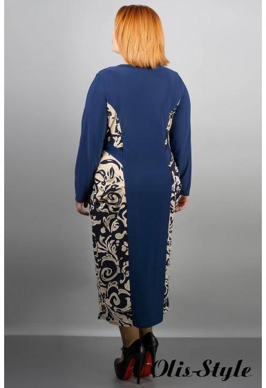 Платье Наоми (синий) Оптовая цена