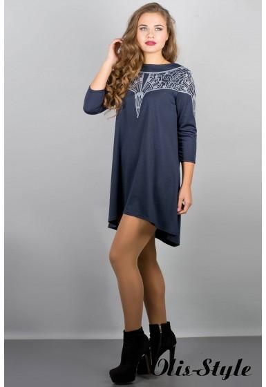 Платье Мэри-эль (синий) Оптовая цена