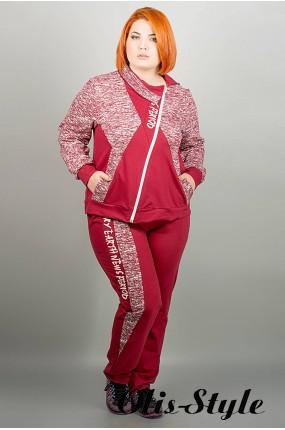 Спортивный костюм Элита (бордовый ) Оптовая Цена